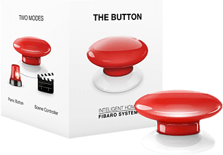 FIBARO FIBEFGPB-101-3 The Button, Taster, kompatibel mit: Z-Wave