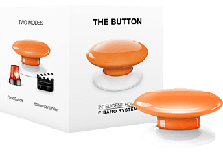 FIBARO FIBEFGPB-101-8 The Button, Taster, kompatibel mit: Z-Wave