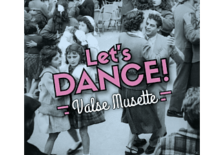 Emila Vacher, Tony Murena, Gus Viseur - Let's Dance!/Valse Musette - (CD)