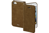 HAMA Guard , Bookcover, Apple, iPhone 5, iPhone 5s, iPhone SE, Kunstleder, Braun