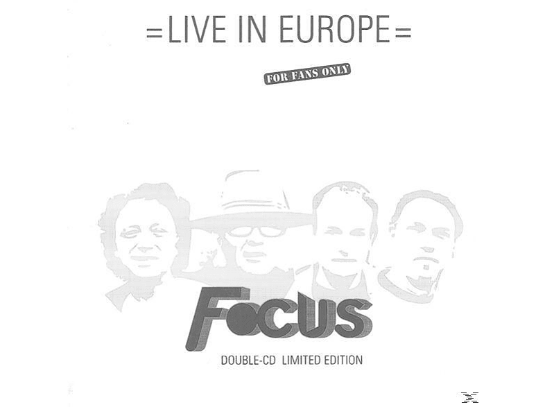 Focus - Live In Europe (Limited Edition 2CD) [CD]