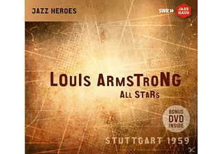 Louis Armstrong - Louis Armstrong All Stars - (CD + DVD Video)