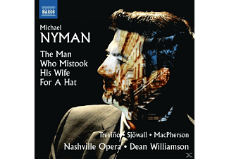 Nashville Opera, Matthew Trevino, Rebecca Sjöwall, Ryan Macpherson - The Man who mistook his Wife for a Hat - (CD)