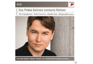 Esa-Pekka Salonen - Esa-Pekka Salonen Conducts Nielsen - (CD)
