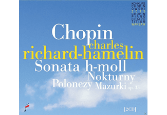 Charles Richard-hamelin - Sonata In B Minor & Nocturnes & Polonaises & [CD]