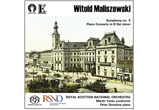 Peter Donohoe, Royal Scottish National Orchestra - Violin Concerto/Sinfonie 3 - (SACD Hybrid)