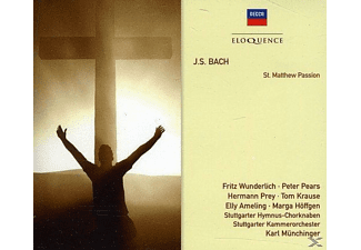 Pears, Ameling, Wunderlich, Prey - St.Matthew Passion - (CD)