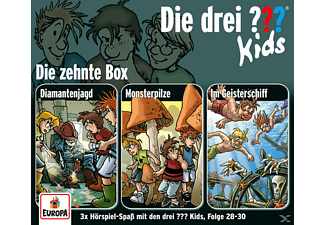 SONY MUSIC ENTERTAINMENT (GER) Die drei ??? Kids 10: 3er Box (Folgen 28-30)