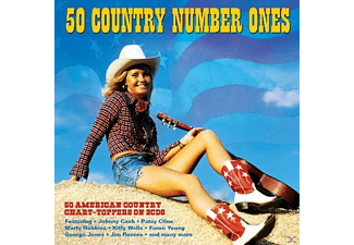 VARIOUS - 50 Country Number Ones - (CD)