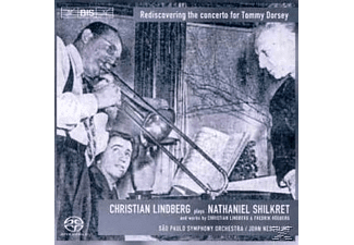 Christian & Sao Paulo So Lindberg - Concerto For Trombone & Orchestra - (CD)