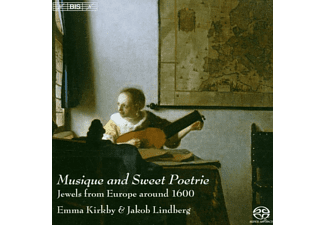 Emma Kirkby - Musique And Sweet Poetrie - (SACD Hybrid)