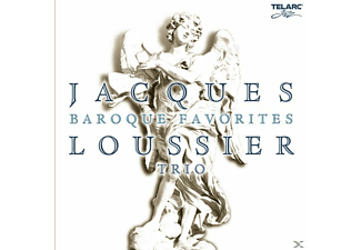 Jacques Trio Loussier - Baroque Favorites - (CD)