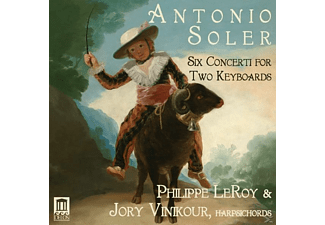 LeRoy,Philippe/Vinikour,Jory - 6 Concerti for 2 Keyboards - (CD)