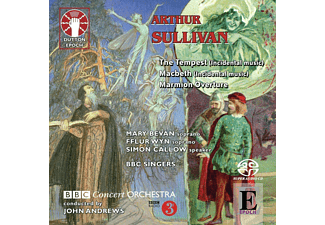 John  Andrews, Fflur  Wyn, Mary  Bevan, BBC Concert Orchestra, Bbc&singers, Simon Callow - Macbeth/Tempest Marmion Overture - (SACD)