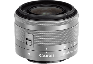 CANON Standaardlens EF-M 15-45mm f/3.5-6.3 IS STM Silver (0597C005AA)