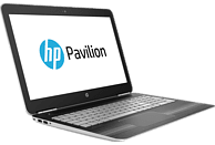 HP Pavilion 15-bc031ng, Notebook, Intel® Core™ Prozessor, 1 TB HDD, 128 GB SSD, GeForce GTX 960M, Silber