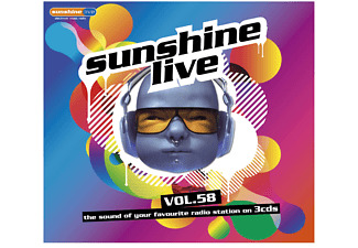 VARIOUS - Sunshine Live Vol.58 - (CD)