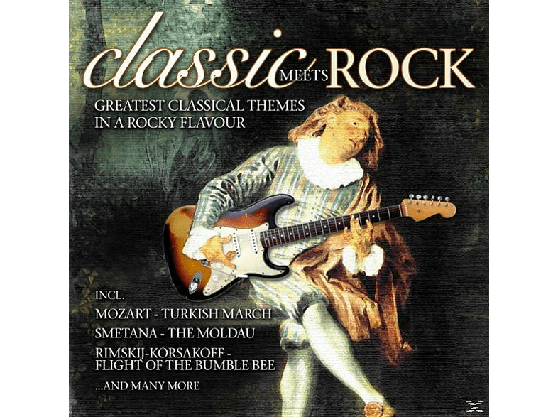 VARIOUS - Classic Meets Rock [CD]