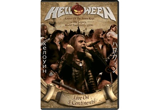 Helloween - Live On 3 Continents - (DVD + CD)
