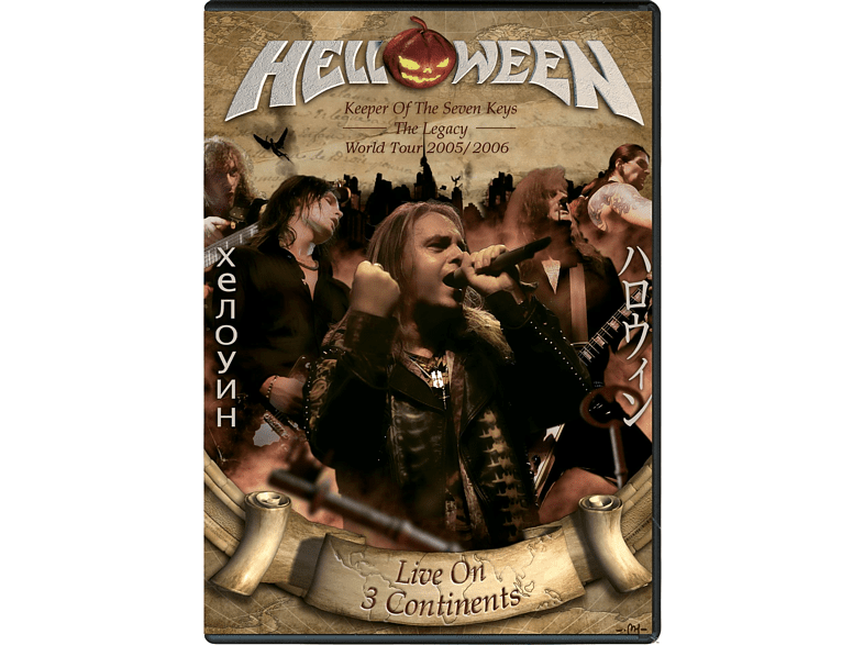 Helloween - Live On 3 Continents [DVD + CD]