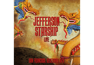 Jefferson Starship - Live-San Francisco,December 1979 - (CD)