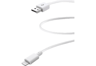 CELLULAR LINE 37446 Ladekabel, passend für Apple iPad Air, iPhone 5s, iPhone SE, iPhone 6, iPhone 6s, iPhone 6 Plus, iPhone 6s Plus, Weiß