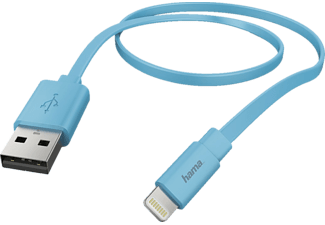 HAMA Lightning Lade-/Datenkabel, passend für Apple Universal, Blau