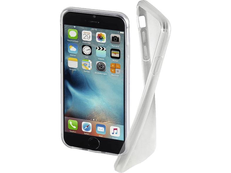 HAMA Crystal Clear , Backcover, Apple, iPhone 7, Thermoplastisches Polyurethan, Transparent