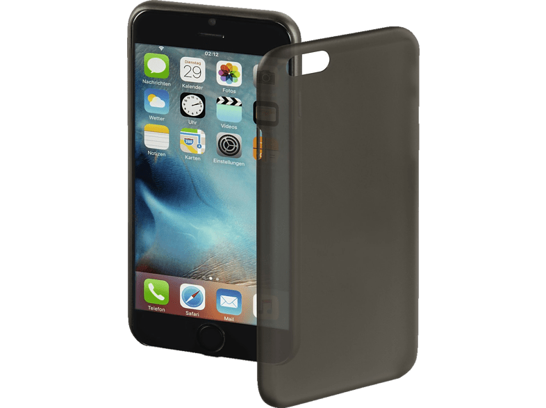 HAMA Ultra Slim Backcover Apple iPhone 7 Kunststoff Schwarz