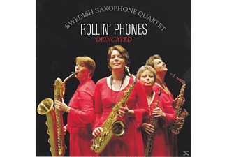 Rollin' Phones Swedish Saxophone Quartet - Dedicated - (CD)