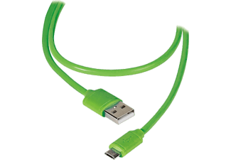 VIVANCO USB/micro-USB-kabel - Grön