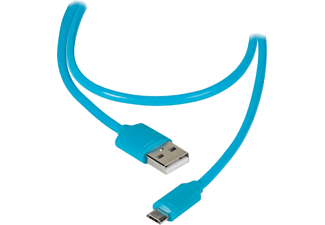 VIVANCO USB till micro-USB adapter 1.2 m - Blå