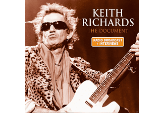 Keith Richards - THE DOCUMENT/AUDIOBOOK - (CD)