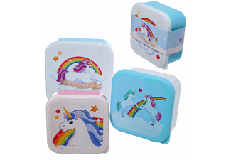 Einhorn Vesperdosen 3-Er Set Rainbows & Unicorns