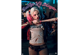 Harley Quinn - Daddys Lil Monster - Poster