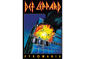 Def Leppard Poster Pyromania