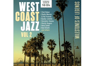 VARIOUS - West Coast Jazz Vol.2-Original Albums - (CD)