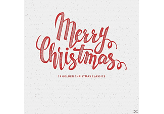 VARIOUS - MERRY CHRISTMAS - 19 GOLDEN CHRISTMAS CLASSICS - (Vinyl)