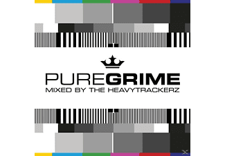 VARIOUS - Pure Grime-Mixed By The HeavyTrackerz - (CD)