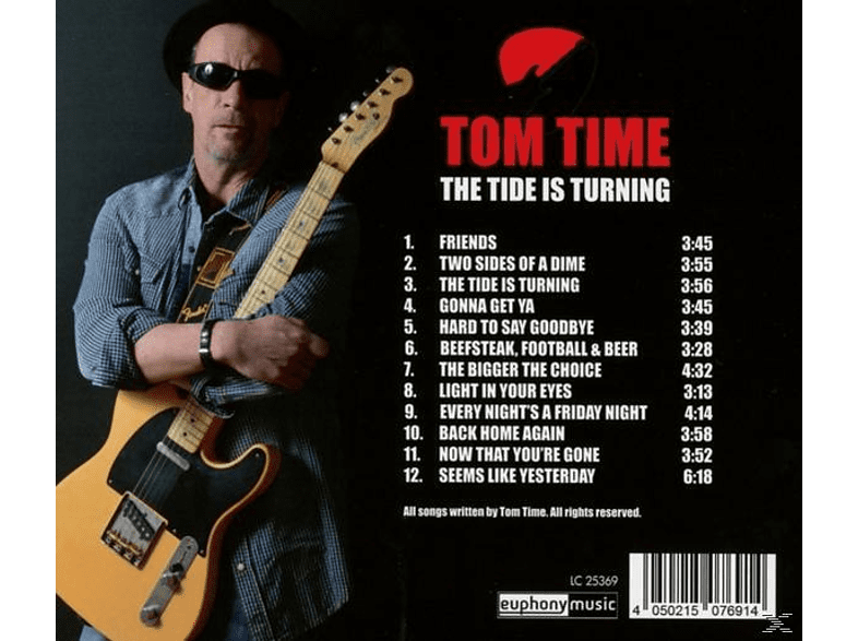 Tom Time - The Tide Is Turning [CD]
