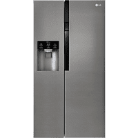 LG GSL 361 ICEZ Side-by-Side (374 kWh/Jahr, A++, 1790 mm hoch, Graphit)