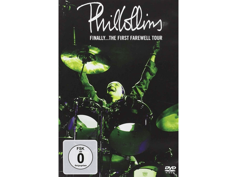 Phil Collins - FINALLY - THE FIRST FAREWELL TOUR [DVD]