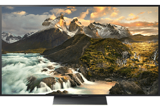 SONY KD-65ZD9, 164 cm (65 Zoll), UHD 4K, 3D, SMART TV, LED TV, 1200 Hz, DVB-T2 HD, DVB-C, DVB-S, DVB-S2