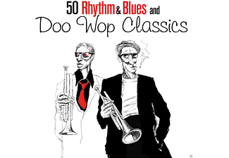 VARIOUS - 50 Rhythm & Blues And Doo Wop Classics - (CD)