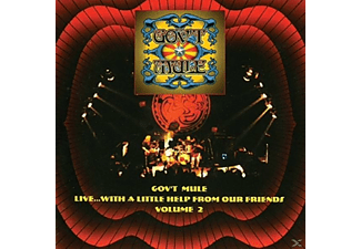 Gov't Mule - Live With A Little Help Froum Our Friends Vol.2 - (CD)