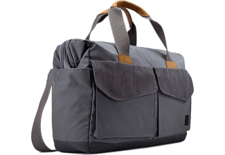 "CASE LOGIC LoDo Satchel 15.6"" - Graphite"