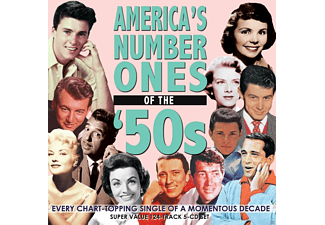 VARIOUS - America's Number Ones Of The 50's - (CD)