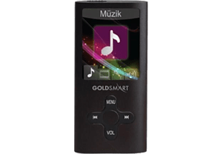 GOLDMASTER MP3-224 Siyah 8 GB MP3 Player