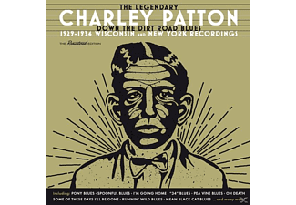 Charley Patton - Down The Dirt Road Blues-1929-34 Wisconsin/+ - (CD)