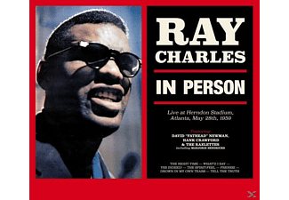 Ray Charles - In Person+2 Bonus Tracks  (Ltd.180g Vinyl) - (Vinyl)